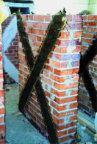 FIBRE PLASTICS COMPOSITE AND NET REINFORCEMENT FOR HISTORIC MASONRY